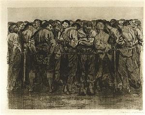 the prisoners by käthe kollwitz