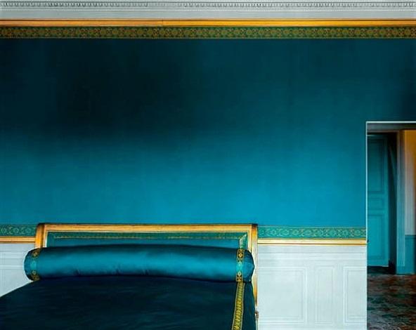 chambre de marie-louise bonaparte, petit trianon - attique, chateau de versailles by robert polidori