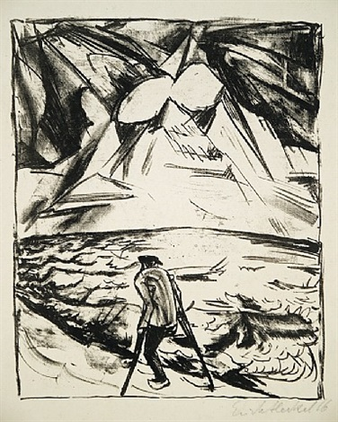 krüppel am meer by erich heckel