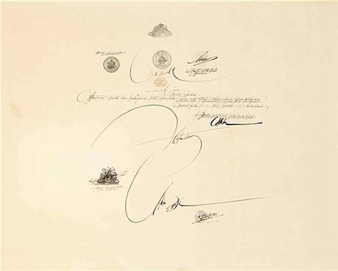 wedding document by saul steinberg