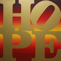 hope iv autumn by robert indiana