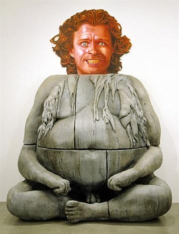"dream object – ""by the garage was a big ganesha statue…"" by jim shaw"