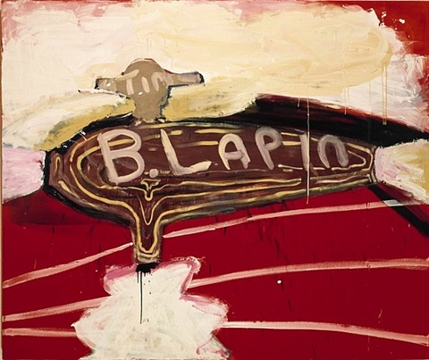 bunny lapin by julian schnabel