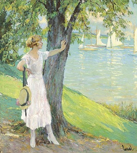 nach der regatta by edward cucuel