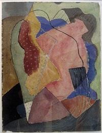st. tropez (abstract) by john ferren