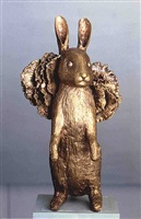 lapin debout i by claude lalanne