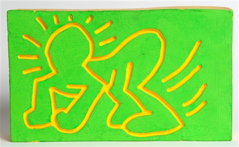 untitled (authenticated) by keith haring
