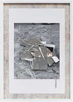 paper fragments (pile) by curtis mann
