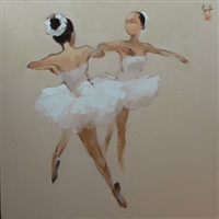 ballerinas by nguyen thanh binh