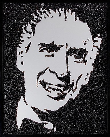 dracula (caviar monsters) by vik muniz