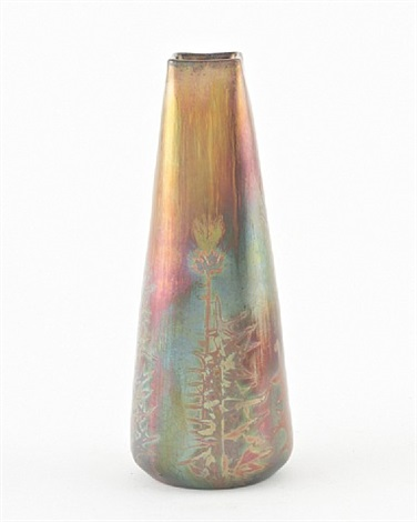 thistle vase by jerome massier