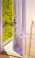 front door cushing by lois dodd