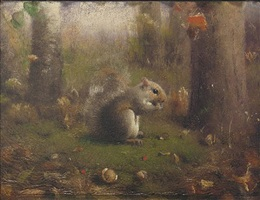 squirrel by joseph decker