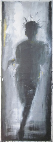 standing lady shadow r1 r9 by richard hambleton
