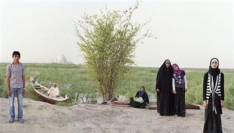adam and eve in the s. iraq marshes by meridel rubenstein