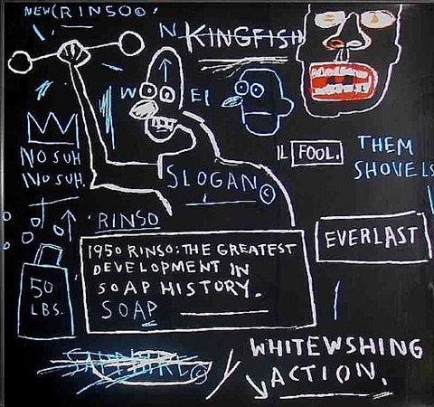 untitled rinso by jean-michel basquiat