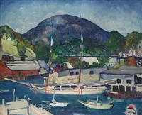 rockport, maine by leon kroll