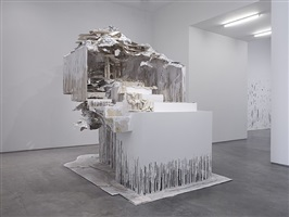 at the vanishing point by diana al-hadid