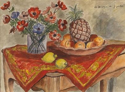 l'ananas by andré dunoyer de segonzac