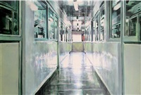 warehouse corridor by anja ganster
