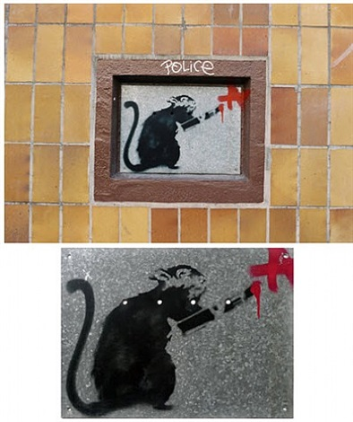 rat (10119 berlin / mitte) by banksy
