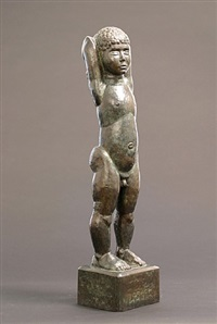young boy (tessim) by william zorach