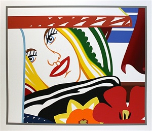 from bedroom painting #41 by tom wesselmann