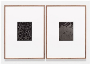 untitled (solarization diptych) by anthony pearson