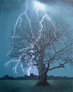 lightning bolt by annie ovenden