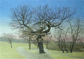 early march on hampstead heath by annie ovenden