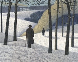 the two trains by mark edwards