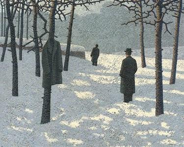 two men waiting by mark edwards