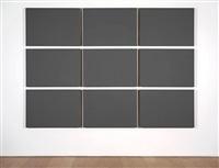 nine rectangles by alan charlton