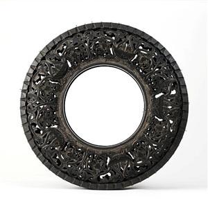 untitled (car tyre) by wim delvoye