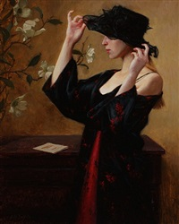the black hat (sold) by grace mehan devito
