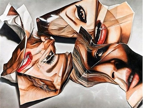 3 crumpled beauty by victor rodriguez