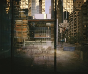 the museum of modern art new york (7.8.2001 - 7.6..2004) by michael wesely