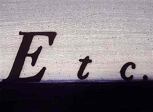 etc. by ed ruscha