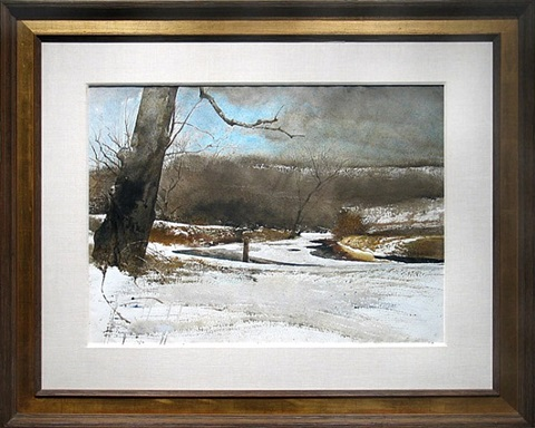 breaking through by andrew wyeth