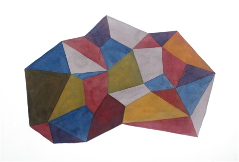 untitled complex forms by sol lewitt