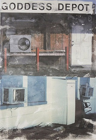 in transit, from <i>doctors of the world</i> by robert rauschenberg