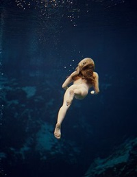 mermaids 15, weeki wachee, florida, 2007 by michael dweck
