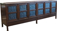 a very rare custom made ed wormley for dunbar janus sideboard by edward wormley