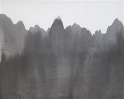 mountain & river by gao xingjian