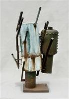 two tank figures by richard stankiewicz