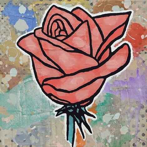 rose by donald baechler