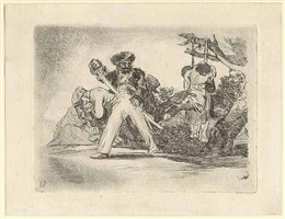 fuerte cosa es! – that's tough! by francisco de goya