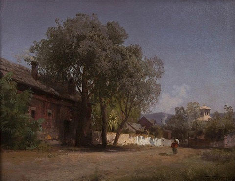 a street in los angeles by hermann herzog