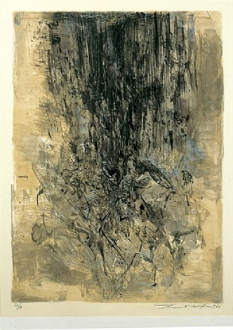 untitled (127) by zao wou-ki