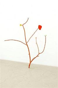 stehender ast / standing branch by anna amadio